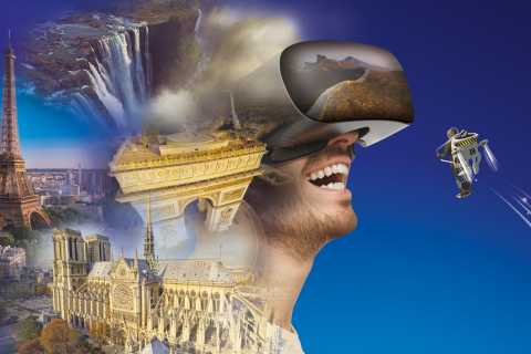 Paris: Fly Over Paris and the World in Virtual Reality