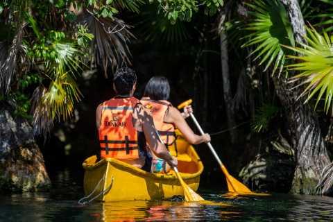 Tulum: tour combinado de las ruinas de Tulum y el parque de aventuras de la selva