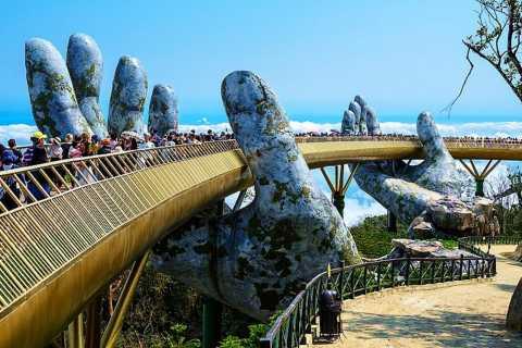 From Da Nang Or Hoi An: Ba Na Hills & Golden Bridge Tour