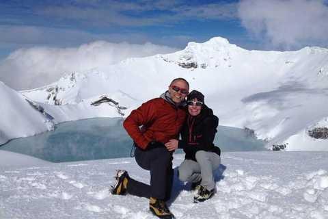 Tongariro National Park: Guided Walk Mt Ruapehu Crater Lake