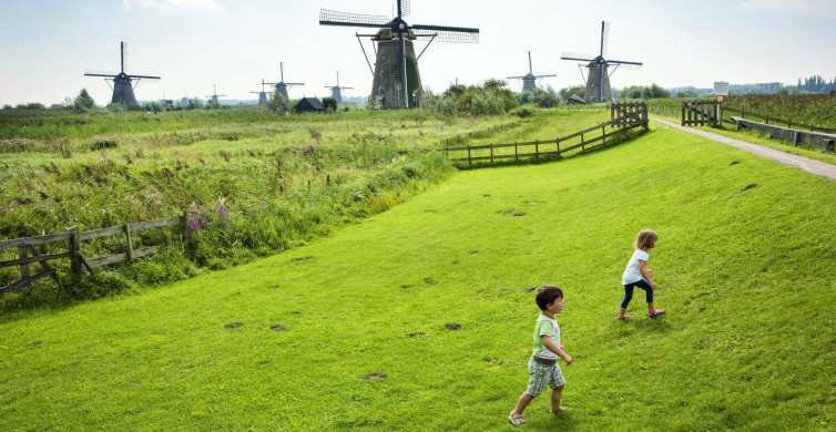 From Rotterdam: UNESCO Kinderdijk, Euromast & Spido Day Trip