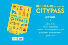 Bordeaux Métropole City Pass de 48 ou 72 Horas