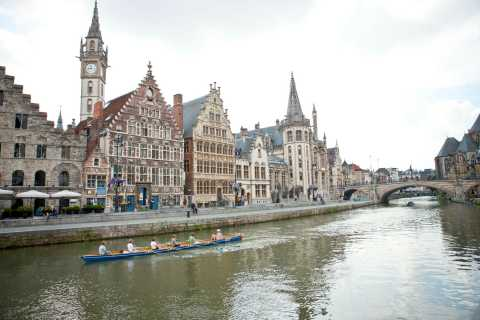 From Brussels: Day Trip to Ghent