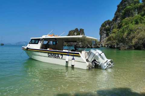 Phuket: Private Full-Day Speed Boat Charter