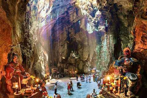 Da Nang: Lady Buddha, Monkey Mountain and Am Phu Cave Tour