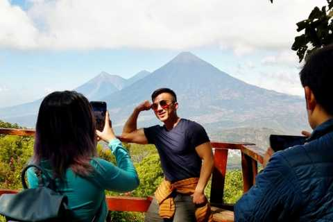 Pacaya Volcano Tour & Hot Springs from Guatemala City