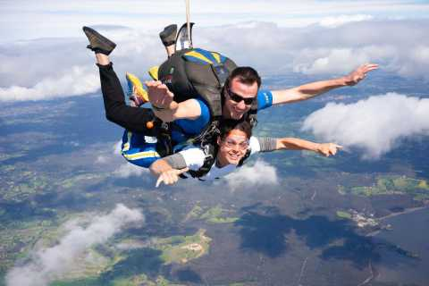 Yarra Valley: Fallschirmspringen