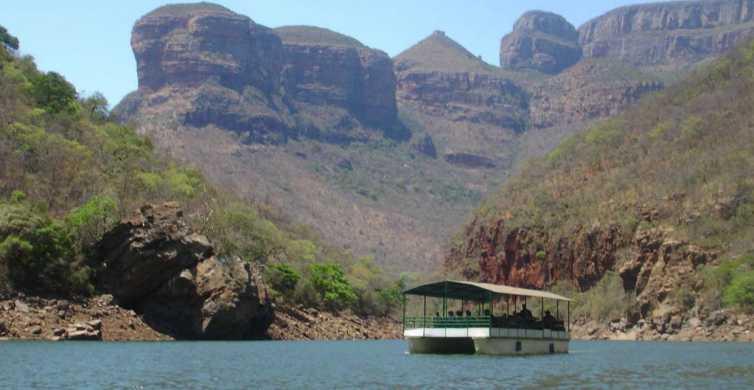 Cruzeiro de barco pelo Blyde River Canyon