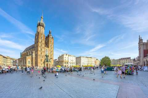Krakow: 2-Hour Electric Car Sightseeing Tour