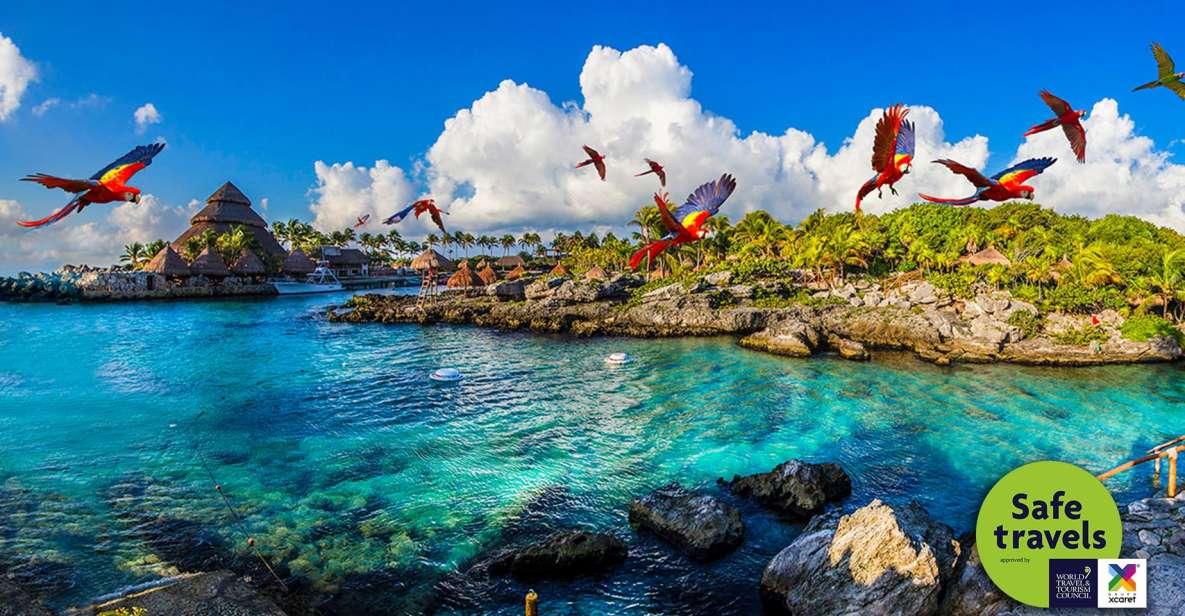 Cancun & Riviera Maya: Xcaret Plus with Buffet & Transport