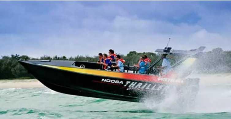 Noosa Heads: 500-Horse-Power Thrill-Boat Ride