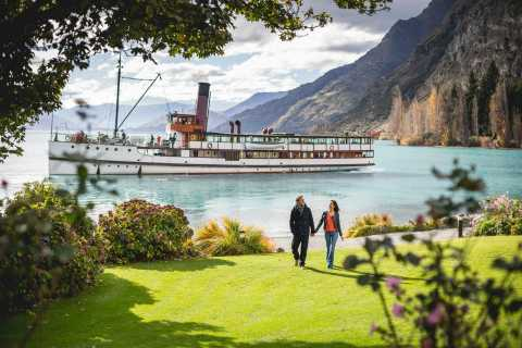Queenstown: TSS Earnslaw Cruise and Jet Boat Combo