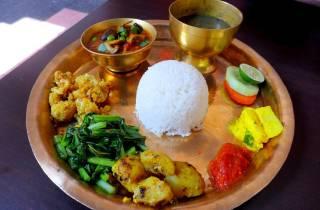 Kathmandu: Nepali Kochkurs mit Hotelabholung