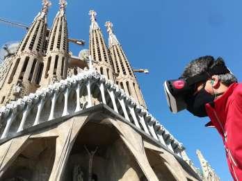 Barcelona: Sagrada Familia Außentour und VR-Erfahrung