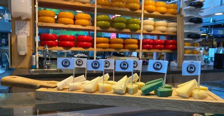 Rotterdam: Local Cheese Tasting at Markthal