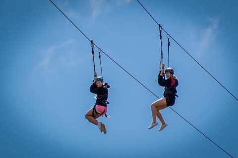 Addo National Park: Addo Zip Line und Giant Swing