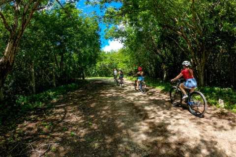 Cozumel: Hidden Mayan Trails Bike Tour and Beach Club