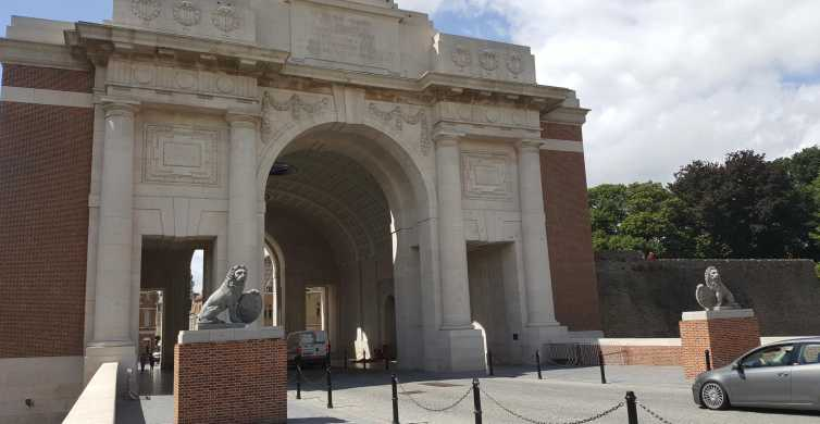 From Lille: Flanders Battlefield Private Tour with Lunch