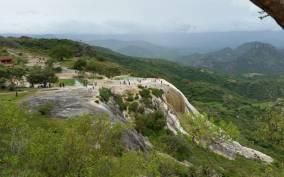 From Oaxaca: Hierve el Agua Waterfalls and Mezcal Factory