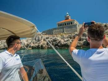 Dubrovnik: Private ganztägige Instagram-Bootstour