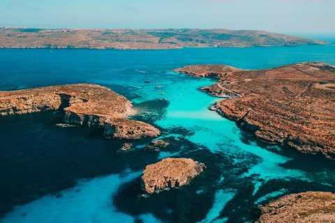 Мальта: круиз на Гозо и Голубую лагуну на целый день с напитками