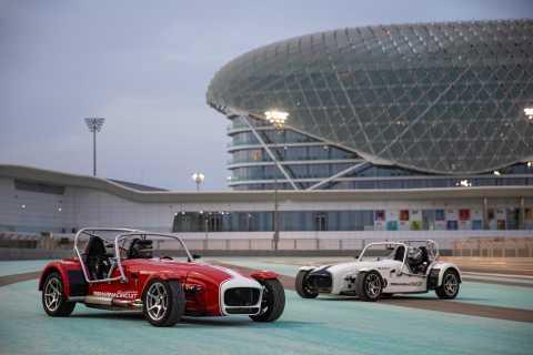 Abu Dhabi: Caterham Seven Driving Experience