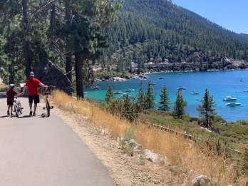 Lake Tahoe: Hybrid-Fahrradverleih und selbst geführte Tour