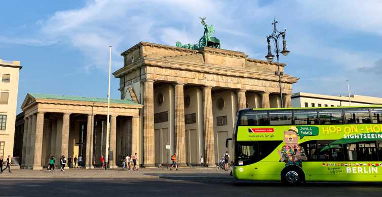 Berlin: Hop-On Hop-Off Sightseeing Bus with Boat Options