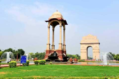 Dall'aeroporto di Delhi: tour guidato della città di Delhi