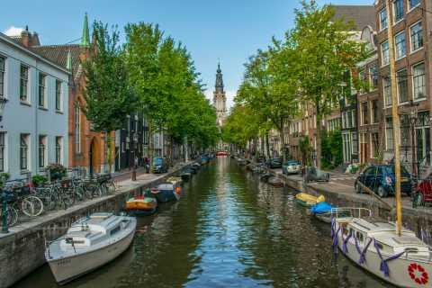 """Amsterdam: """"Fall in Love with Amsterdam"""" German Walking Tour"""