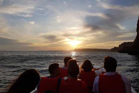 Lagos: excursão guiada ao pôr do sol em Ponta da Piedade