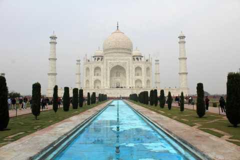 From Delhi: Private Overnight Tour to Taj Mahal & Mathura