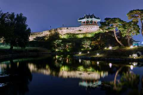 From Seoul: Evening Tour to Hwaseong Fortress UNESCO Site