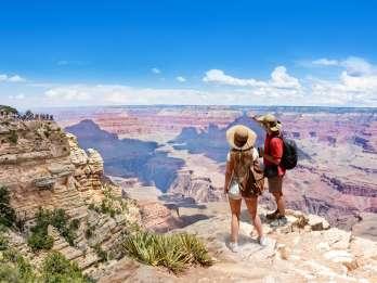 Ab Las Vegas: Bustour zum Südrand des Grand Canyon