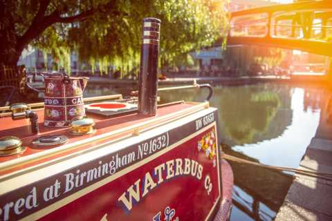 London: Regent's Canal Waterbus Little Venice & Camden Town