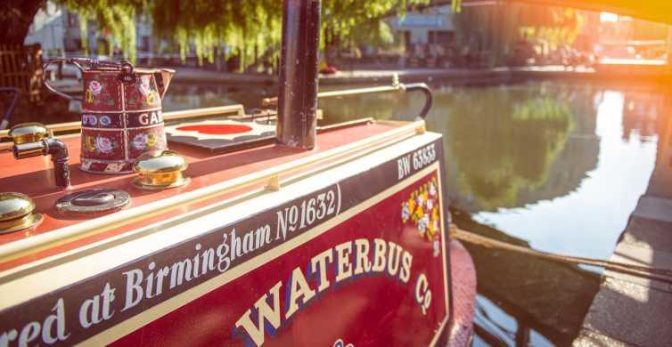 London: Regent's Canal Waterbus Lille Venedig & Camden Town