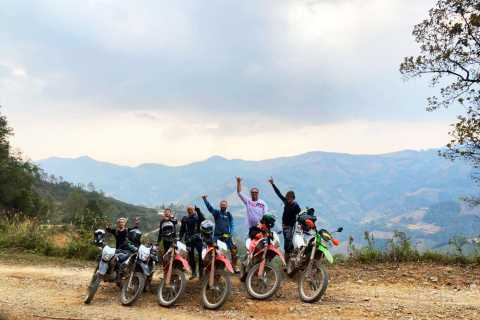 From Sapa: Motorbike Tour with Silver Waterfall