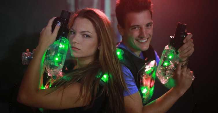 Prague: Laser Tag Game Experience