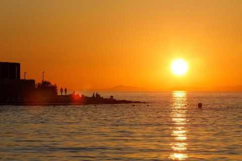 Split: excursão de barco ao pôr do sol na Ilha de Brac e na Vila Sutivan