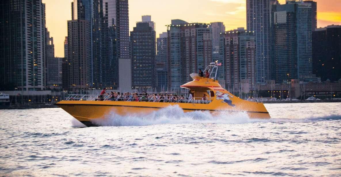Chicago Lakefront: Abenteuer mit dem Seadog Schnellboot