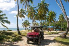 San Andres: Aluguel de Carrinho de Golfe com 2 Lugares