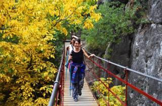 Granada: Wandertour durch den Canyon Los Cahorros de Monachil