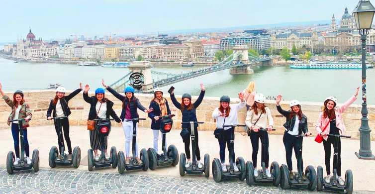 Lo más destacado de Budapest: tour en segway de 2,5 horas