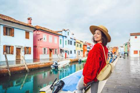 From Venice: Murano, Torcello & Burano Boat Trip with Guide