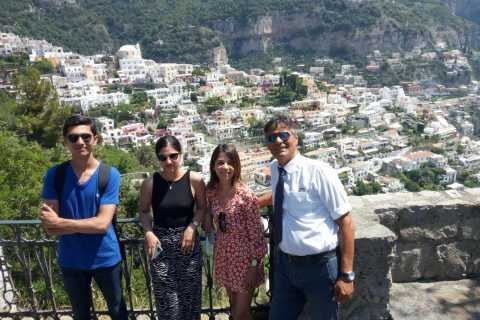 From Naples: Sorrento and Amalfi Coast Shared Day Trip
