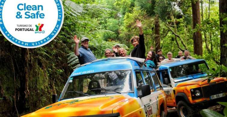 Van Funchal: Overzeese Klippen and Wine Tasting 4WD Tour