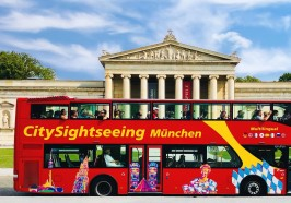Wat te doen in München - München: hop on, hop off-tour met 1- of 2-daagse ticket