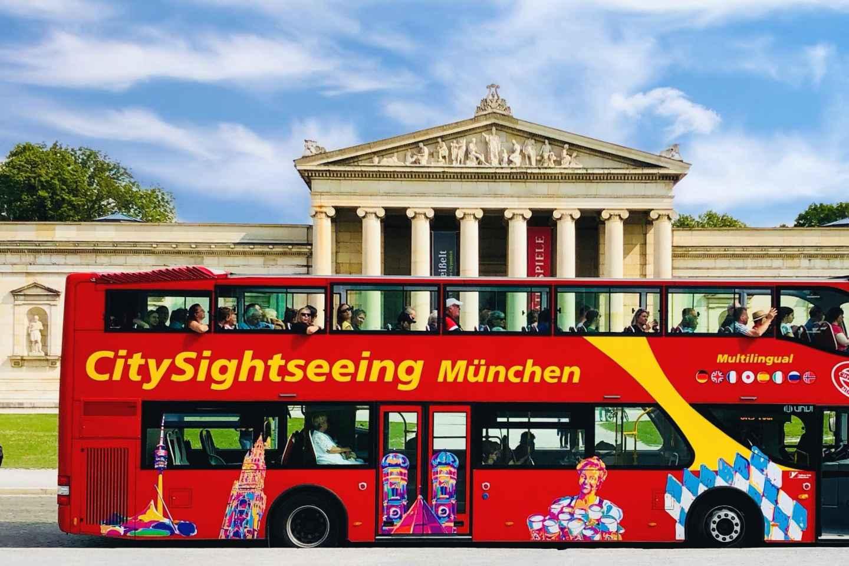 München Hop-On/Hop-Off-Tour: 1- oder 2-Tagesticket