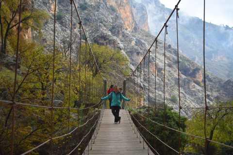 Granada: ruta de Gollizno y caminata guiada por el río Velillos