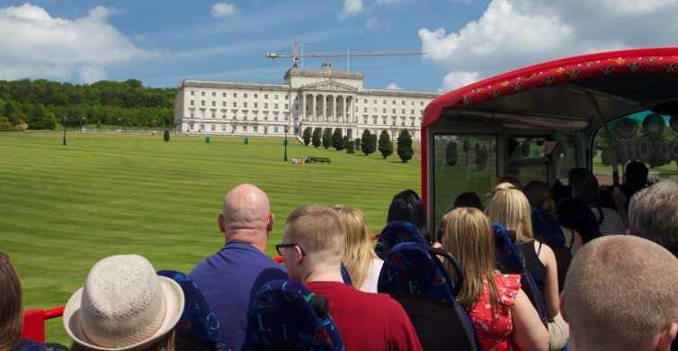 Belfast: Giant's Causeway Tour og 2-dages Hop-on Hop-off Pass